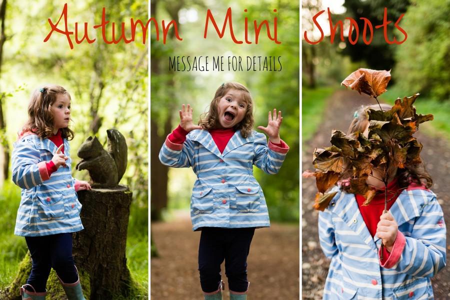 Autumn Mini Shoots blog